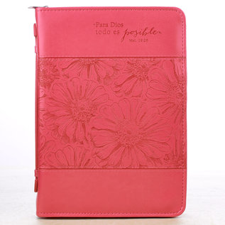 Bible Cover - Para Dios (With God), Spanish