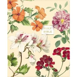 NASB 1995 Artisan Collection Bible, Almond Floral Leathersoft