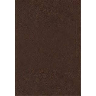 NVI Biblia Palabra de Aliento de Max Lucado (NVI Lucado Encouraging Word Bible), Brown Leathersoft