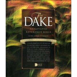 KJV Large Print Dake Annotated Reference Bible, Black Bonded Leather
