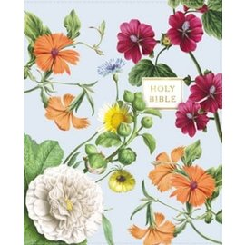 NIV Artisan Collection Bible, Blue Floral Leathersoft