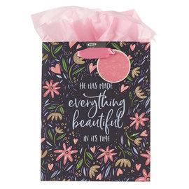 Gift Bag - Everything Beautiful, Floral, Medium