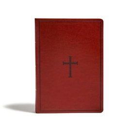 KJV Super Giant Print Reference Bible, Brown Leathersoft