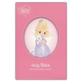 NKJV Precious Moments Bible, Pink Hardcover
