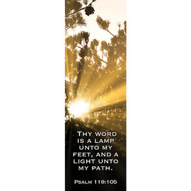 Bookmarks: Thy Word is a Lamp (Pack of 25)