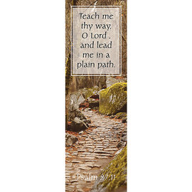 Bookmarks: Teach Me Thy Way (Pack of 25)