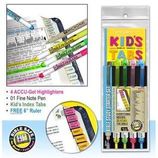Bible Study Starter Set w/Kid's Tabs