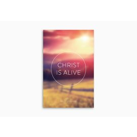 Good News Bulk Tracts: Christ is Alive (Pack of 25)