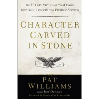 Character Carved in Stone (Pat Williams), Paperback
