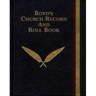 Boyd's Church Record and Roll Book, Hardcover