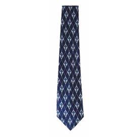 Tie - Diamond Cross, Navy