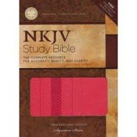 NKJV Study Bible, Coral