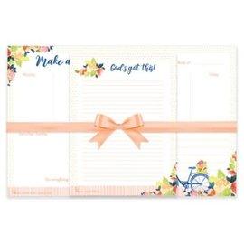 Desktop Planner & Notepad Set - Make a Difference, Undated