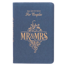 Mr. & Mrs. 366 Devotions For Couples, LuxLeather