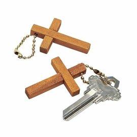 Keychain - Wooden Cross