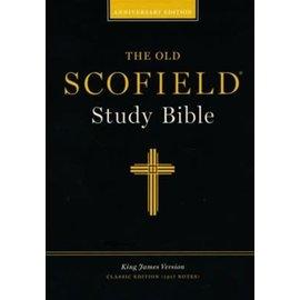 KJV Old Scofield Study Bible: Classic Edition, Black Bonded Leather