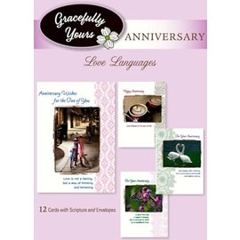 Boxed Cards - Anniversary, Love Languages