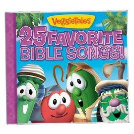 CD - Veggie Tales: 25 Favorite Bible Songs!