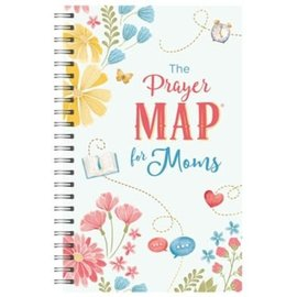 The Prayer Map for Moms, Spiral Bound