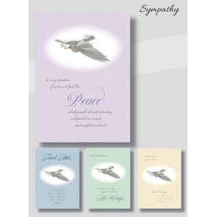 Boxed Cards - Sympathy, Doves