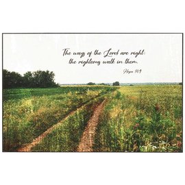 Wall Art - The Ways of the Lord are RIght