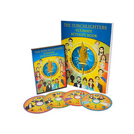 The Torchlighters Ultimate Activity  Book + DVD Set
