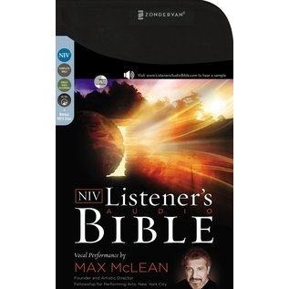 AudioBible: NIV Listener's Bible w/Max McLean