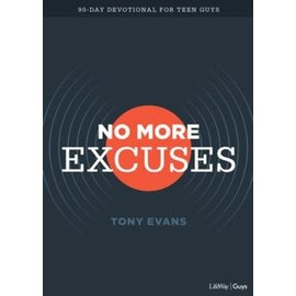 No More Excuses: 90-Day Devotional for Teen Guys (Tony Evans), Paperback