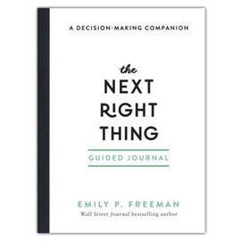 The Next Right Thing, Guided Journal (Emily P. Freeman), Paperback