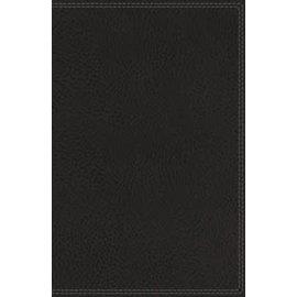 NIV Side-Column Wide-Margin Reference Bible, Black Leathersoft