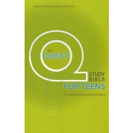 NIV Quest Study Bible for Teens, Hardcover
