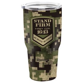 Stainless Steel Tumbler - Stand Firm