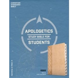 CSB Apologetics Study Bible for Students, Cloth over Board, Indexed