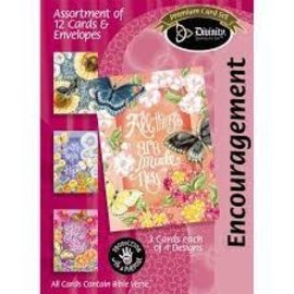 Boxed Cards - Encouragement, Butterfly Garden