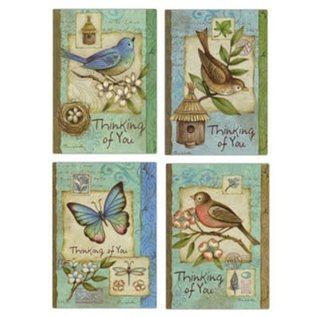 Boxed Cards - Thinking of You, Blue Birds