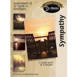 Boxed Cards - Sympathy, Sunsets