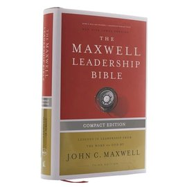 COMING JULY 2021: NKJV The Maxwell Leadership Compact Bible, Third Edition (John C. Maxwell), Hardcover