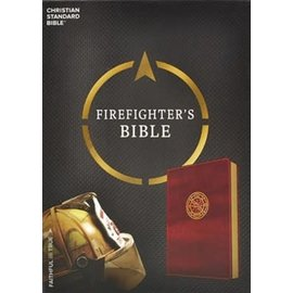 CSB Firefighter's Bible, Burgundy Leathersoft