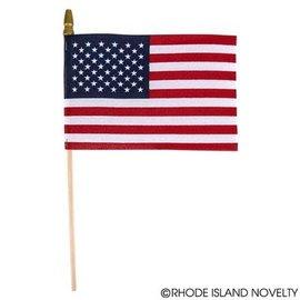 """USA Stick Flag (4"""" x 6"""")"""