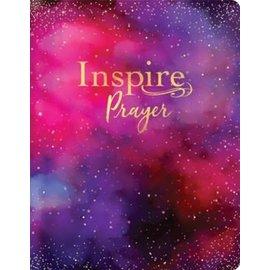 NLT Giant Print Inspire Prayer Bible, Galaxy Leathersoft