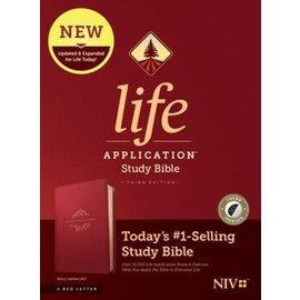 NIV Life Application Study Bible 3, Berry Leathersoft, Indexed