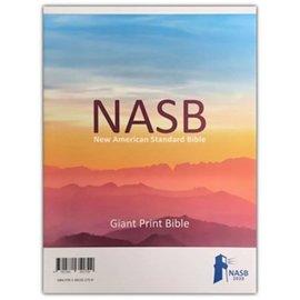 NASB 2020 Giant Print Reference Bible, Black Genuine Leather
