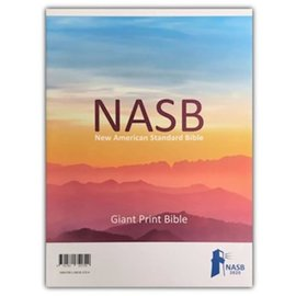 NASB 2020 Giant Print Bible, Blue Leathersoft, Indexed