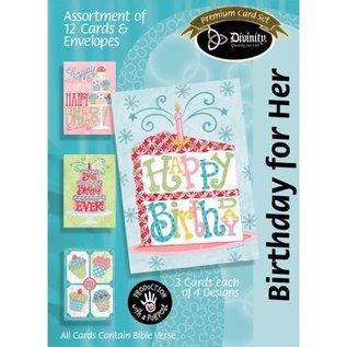 Boxed Cards - Birthday, For Her