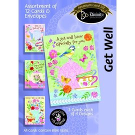 Boxed Cards - Get Well, Tea & Coffee