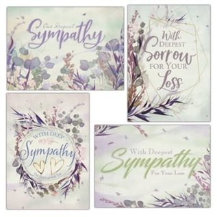 Boxed Cards - Sympathy, Watercolor Grass