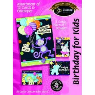Boxed Cards - Birthday, For Kids