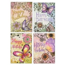 Boxed Cards - Birthday, For Her: Butterflies