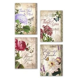 Boxed Cards - Thank You, Flowers