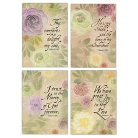 Boxed Cards - Praying for You, Pastel Flowers